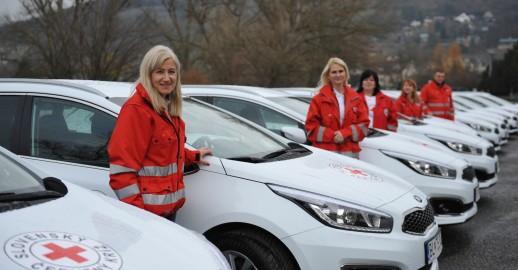 Nové autá pre Červený Kríž