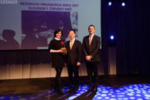 Nezisková organizácia roka - Slovenský červený kríž