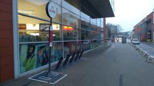 Dokovacie stanice sú rozmiestnené prevažne v centre a širšom centre mest...